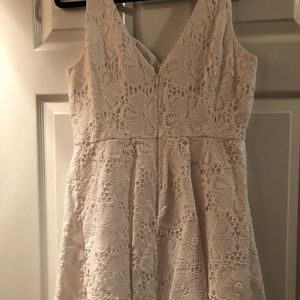 5262147002d7ef Lilly Pulitzer Dresses - Lilly Pulitzer Marla Dress in White Floral Lace